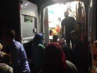 GÜNCELLEME - Bartın'da 5 kişinin bulunduğu araç baraja devrildi