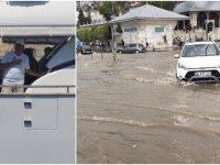Tatilden dön başkan... İstanbul'u sel aldı Sayın İmamoğlu neredesiniz?