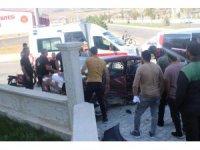Erzincan'da trafik kazası: 2 yaralı