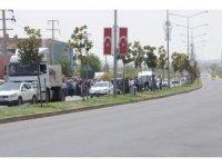 Mardin'de izinsiz gösteriye müdahale