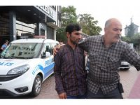 Belediyede intiharı polis önledi