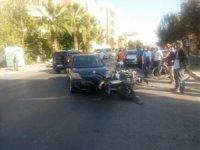 Balıkesir'deki kazada polis memuru yaralandı