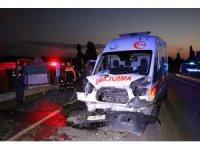 GÜNCELLEME - Kütahya'da zincirleme trafik kazası: 3 ölü, 4 yaralı