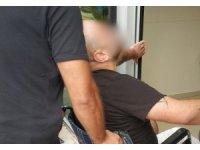 Tekerlekli sandalye ile adliyeye sevk edilen şahıs serbest bırakıldı