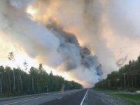 Alaska'da orman yangını yerleşim yerlerine sıçradı