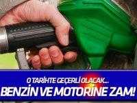 O tarihte geçerli olacak... Benzin ve motorine zam!