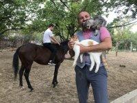 Konyalı doktorun hayvan sevgisi