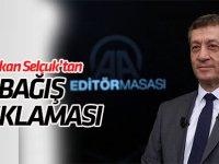 """Bakan Selçuk'tan """"bağış"""" açıklaması"""