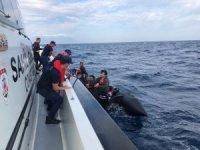 Edirne açıklarında 30 düzensiz göçmen yakalandı