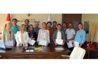 Netcad Eğitimini tamamlayanlara sertifikaları verildi
