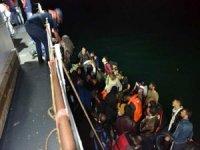 Enez açıklarında 41 düzensiz göçmen yakalandı