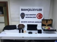 Polis ekiplerinden hırsızlara suçüstü