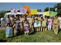 Pakistan'ın 26 kentinde iklim değişikliği protestosu