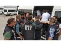 Samsun'da aranan 30 kişi tutuklandı