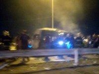Kerbela'da yolcu otobüsünde patlama: 11 ölü, 2 yaralı