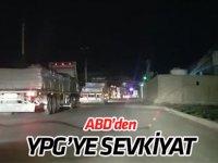 ABD'den YPG/PKK işgalindeki bölgeye yeni sevkiyat