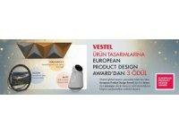 Vestel, global tasarım yarışması EPDA'dan 3 ödülle döndü