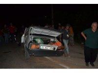 Adana'da trafik kazası: 1'i ağır 2 yaralı
