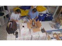 Antalya'da 739 adet sahte bandrollü alkol ele geçirildi