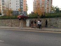 Başkent'te akıl almaz kaza