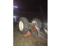 Karaman'da traktörün altında kalan sürücü hayatını kaybetti