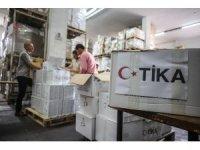 TİKA'dan Gazze'ye ilaç yardımı