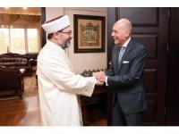 Erbaş, Arjantin Büyükelçisi ile görüştü