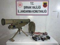 Şırnak'ta saldırı hazırlığındaki bir PKK'lı terörist etkisiz hale getirildi