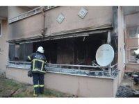 100. Yıl Mahallesi'ndeki ev yangını korkuttu