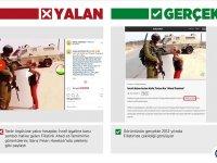"""Harekat aleyhine manipülasyon için """"Filistinli cesur kız""""ı kullandılar"""