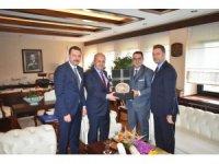 İZTO heyeti, Bakan Turhan'a İzmir'in lojistik sektöründeki beklentilerini iletti