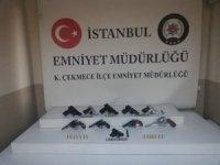 İstanbul'da silah kaçakçılığı ve tefecilik operasyonu: 3 gözaltı