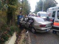 Ordu'da trafik kazası: 4 yaralı