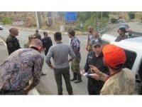 Erzincan'da kaçak keklik ve tavşan avlayan 5 kişi yakalandı