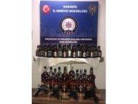 Karabük'te kaçak içki operasyonu