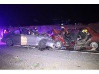 Kütahya'daki trafik kazası