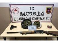 Malatya'da 1 kilo 200 gram esrar yakalandı