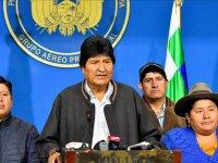 Ordu istedi Morales istifa etti