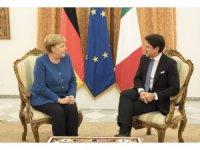 Conte-Merkel görüşmesi