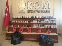 Gaziantep'te 5 kilo gümrük kaçağı nargile tütünü yakalandı