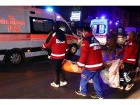 Başkent'te alevlerin arasında kalan kadın balkondan atladı: 1 yaralı