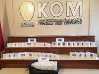 Gaziantep'te 690 paket kaçak sigara ele geçirildi