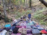 Amanoslar'da PKK sığınağı bulundu