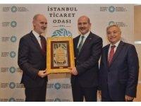 İçişleri Bakanı Süleyman Soylu İTO Meclisi'ne konuk oldu