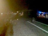 Otomobil ile hafif ticari araç çarpıştı: 1 yaralı