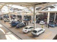 Salihli açık oto pazarı açıldı