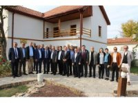Susurluk Ticaret Odası Polatlı'nın tarihi alanlarını gezdi