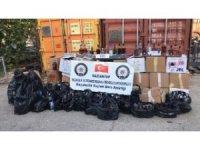 Gaziantep'te 765 şişe sahte alkol ele geçirildi