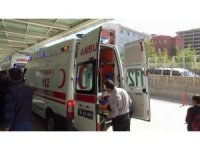 Siirt'te minibüs şarampole yuvarlandı: 4 yaralı