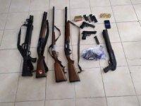 Yaşa dışı silah operasyonu: 24 gözaltı
